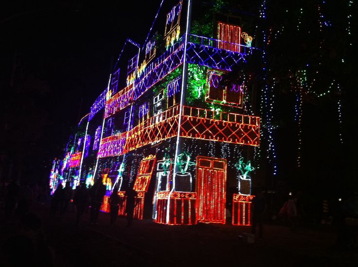 Medellin Christmas lights 26