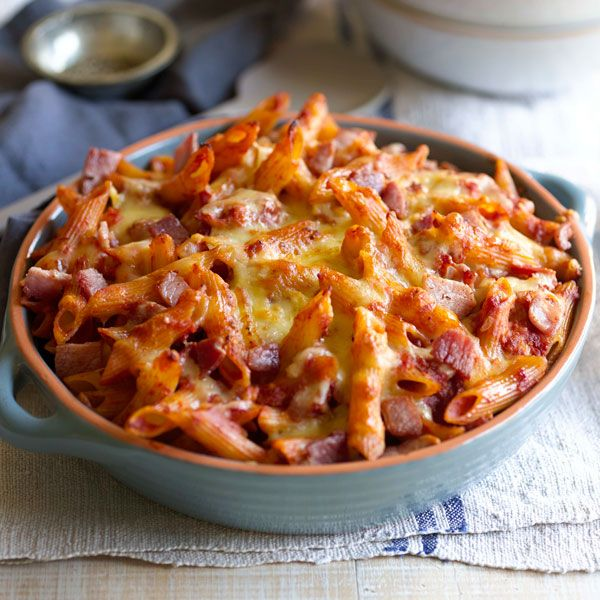 Baked Penne Amatriciana  | Pasta recipe ideas for the family