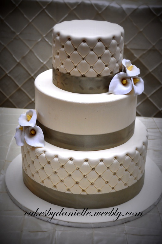 I love the look of quilted cakes