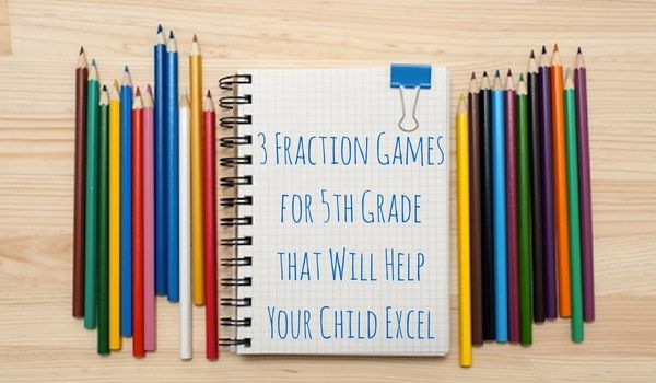 Check out these fraction games for 5th graders that make learning fractions fun and engaging! http://blog.tabtor.com/blog/3-fraction-games-for-5th-grade-that-will-help-your-child-excel