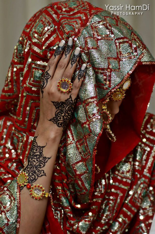 Sudanese Henna, such a pity they used PPD poison
