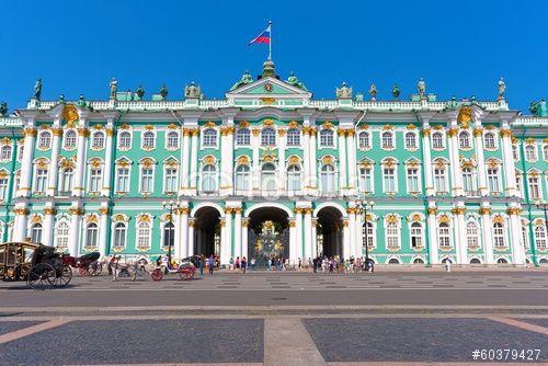"""Скачивайте роялти-фри фото """"Hermitage in Saint Petersburg"""", сделаную Sailorr по самой низкой цене на Fotolia.com. Полистайте наш банк изображений и найдите идеальную стоковую фотографию для вашего маркетингового проекта!"""