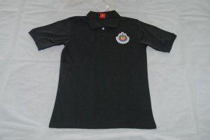 2017-18 Cheap Polo Shirt Chiva Replica Football Shirt Black [JFCB787]