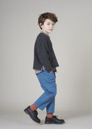 Hastings Trouser, Misty Blue
