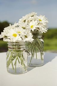 another cute arrangement to put in the middle of the tables during the reception
