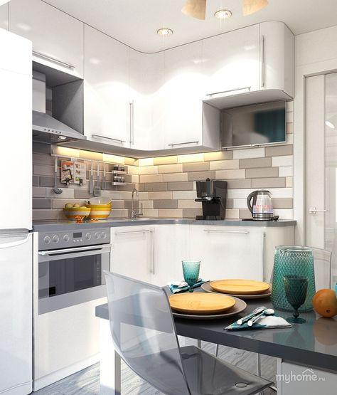 Кухня г.Москва — Интерьеры квартир, домов — MyHome.ru