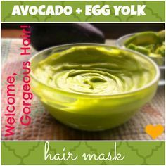Want thick, voluminous hair? Want your hair to grow faster? Want to condition your locks without harsh chemicals? Well, this avocado-egg-yolk hair mask does it all!