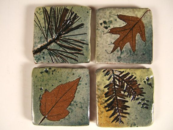 Backsplash Accent Ceramic Tile kitchen bath tree di PotsbydePerrot