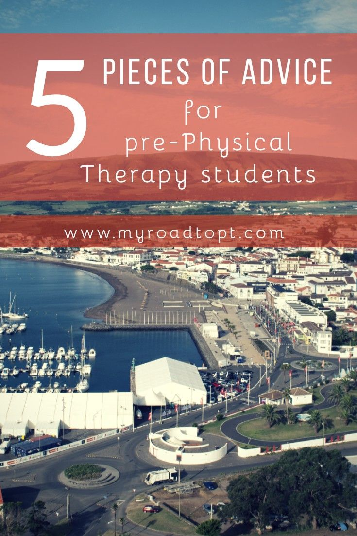 These 5 pieces of advice for pre-physical therapy students are a MUST read! | My Road to PT #prept #ptschool #ptstudent #physicaltherapy #gradschool #college #undergrad #dpt #myroadtopt