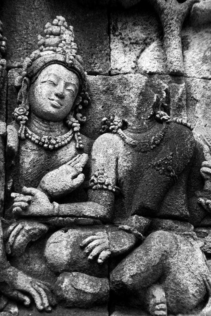 couple #borobudur #indonesia #java #temple