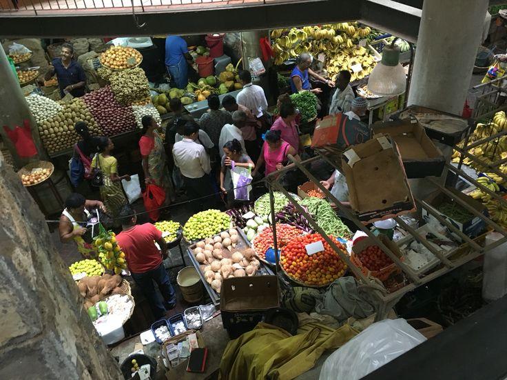 Market at Port Louis