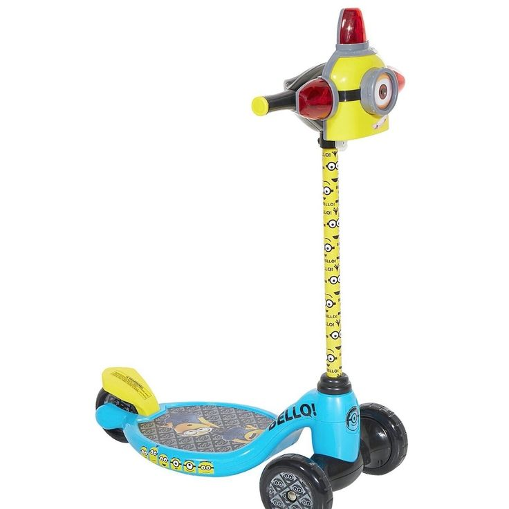 Dynacraft Minions 3-wheel Children's Scooter