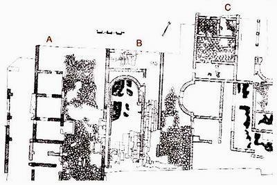 Pianta del complesso archeologico