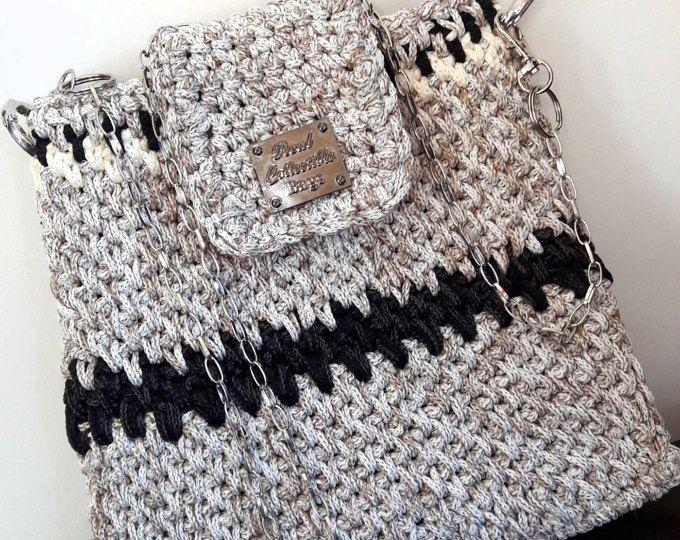 малка чанта за плетене на една кука / ръчна чанта