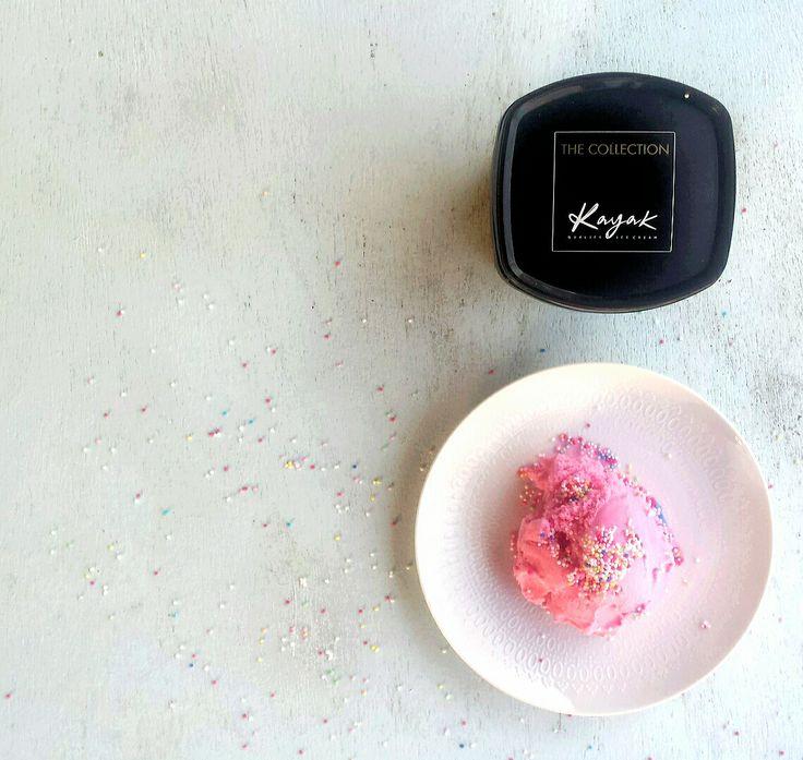 Bubble Gum Kayak Ice Cream... Pure Magic! www.facebook.com/KAYAK.PureMagic