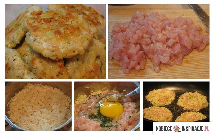 Kotlety ryżowe z kurczakiem - Kobieceinspiracje.pl