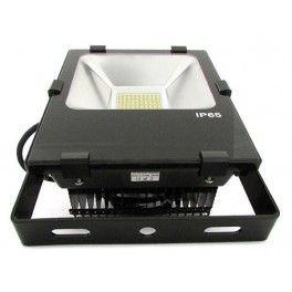 #Faro #Proiettore #Led Flood Light IP65 50W Con Dissipatore Heatpipe PCcooler 100 smd Bianco Neutro