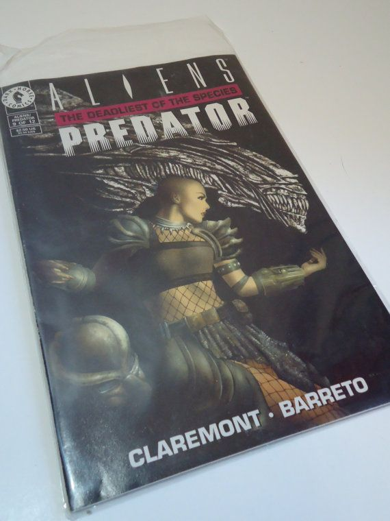 Aliens Predator The Deadliest of the Species #9 of 12 Rare Comic Book from 1993