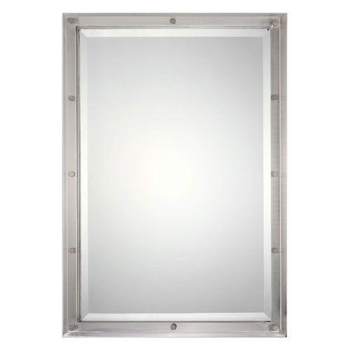 Manning Nickel Brushed Mirror