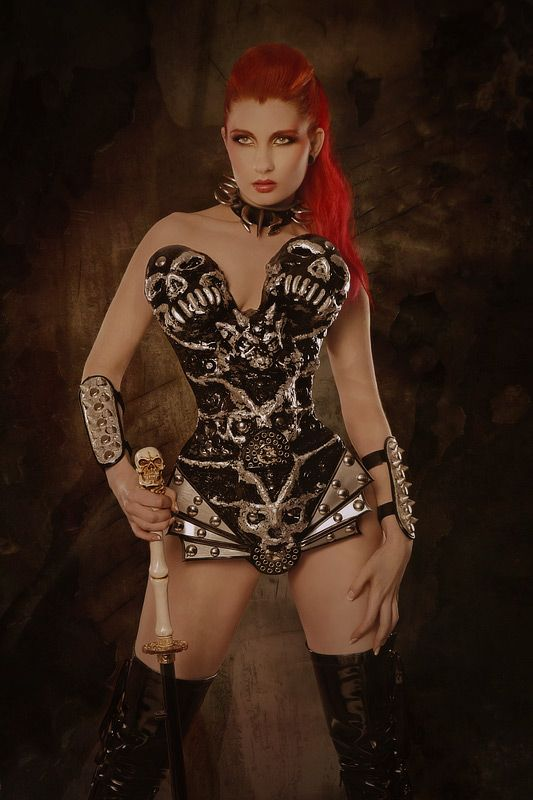 Sexy Red Sonja Cosplay Awesome Cosplay Warrior Women