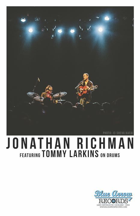 LIVE! ON STAGE: JONATHAN RICHMAN featuring TOMMY LARKINS on the drums! - https://www.muvents.com/louisville/event/live-on-stage-jonathan-richman-featuring-tommy-larkins-on-the-drums/ - Event Show Time: April 14 @ 9:00 pm -   LIVE! ON STAGE: JONATHAN RICHMAN featuring TOMMY LARKINS on the drums at Zanzabar #LouisvilleMusic #MusicLouisville