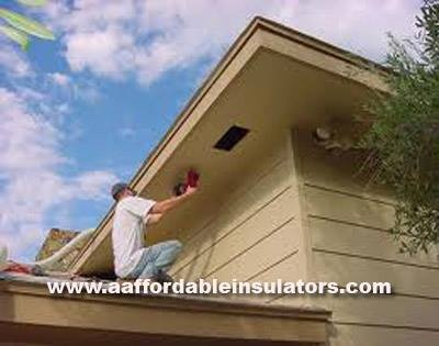 Soffits are installed under the eaves of the house and let cool air into the attic. Attic FanRoof ... & 11 best Attic ventilation images on Pinterest | Attic fan Attic and ...