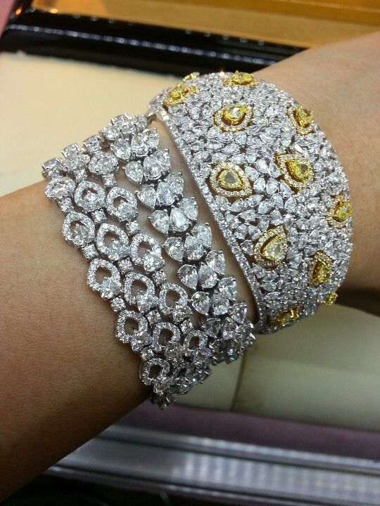 fancy diamonds bracelet