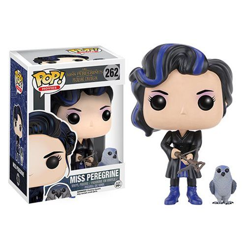Miss Peregrine's Home Miss Peregrine & Owl Pop! Vinyl Figure - Funko - Miss Peregrines Home for Peculiar Children - Pop! Vinyl Figures at Entertainment Earth