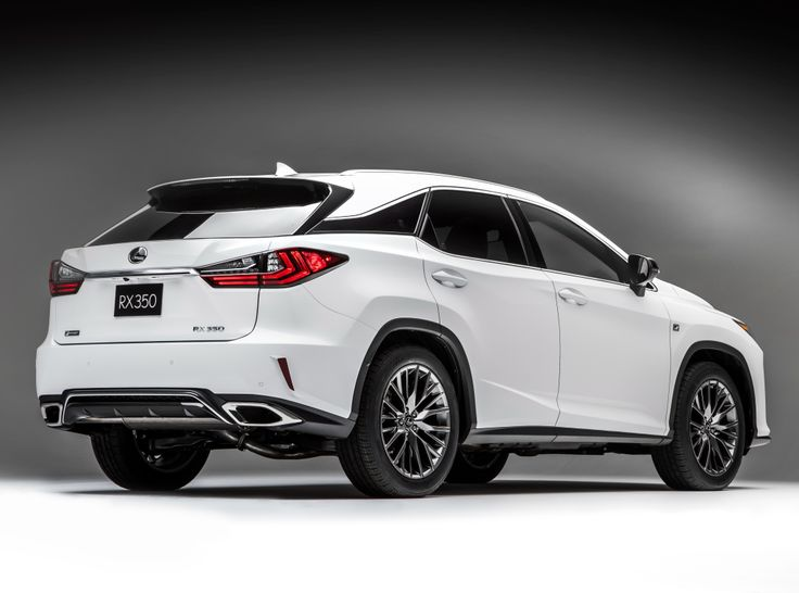 2016 Lexus RX 350 F-Sport '2015 Not your Average Mommy's Car but I Love it.