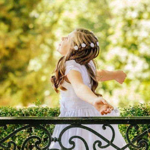 Acconciature per la prima comunione: suggerimenti per le bambine