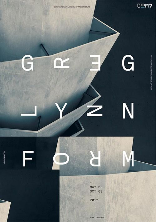 Contemporary Museum of Architecture GREG LYNN FORM exhibition Identity and promotional design works including logo design, posters, stationery, postcards, tickets, book, and web design by Jeff J. Han for the COMA - GREG LYNN FORM exhibition. via: WE AND THE COLORFacebook // Twitter // Google+ // Pinterest