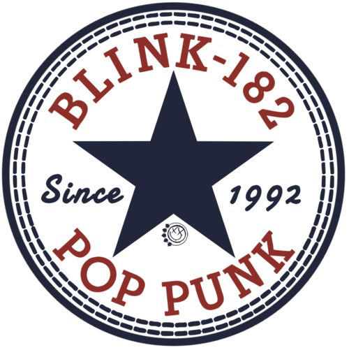 Blink-182 x Converse logo = awesome