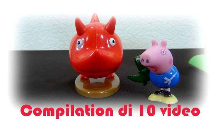 Peppa Pig italiano. Compilation di 10 video Peppa Maiale e le sue avvent...