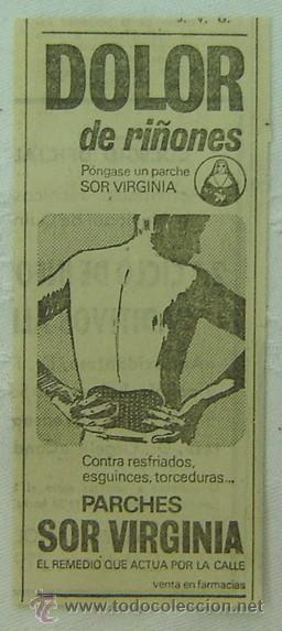 anuncio publicitario parches sor virginia-años | 13644196