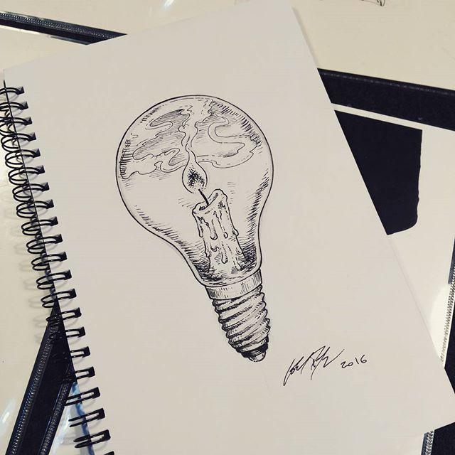 New flash available sketching @eastmarketmilano last edition #lorisdogana #doctorsunda #light #ligh - doctor_sunda