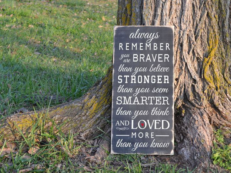 Always remember you are braver than you believe by GrabersGraphics, $45.00