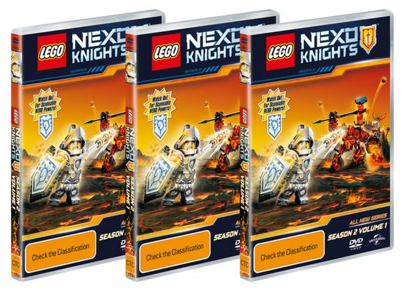 WIN 1 OF 10 LEGO NEXO KNIGHTS DVDS Competition Ends:  31/10/2016  Prize:  a LEGO Nexo Knights DVD  Sponsor:  LEGO  Prize Value:  $29.99