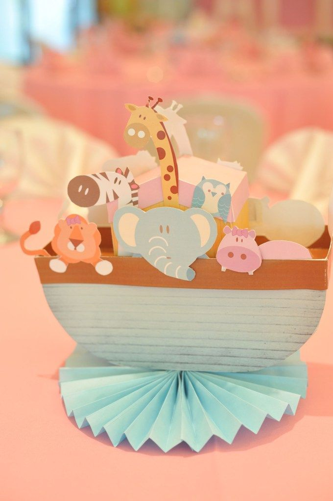 Christening Party for Ally (Noah's Ark Theme) | Styling by Something Pretty Manila
