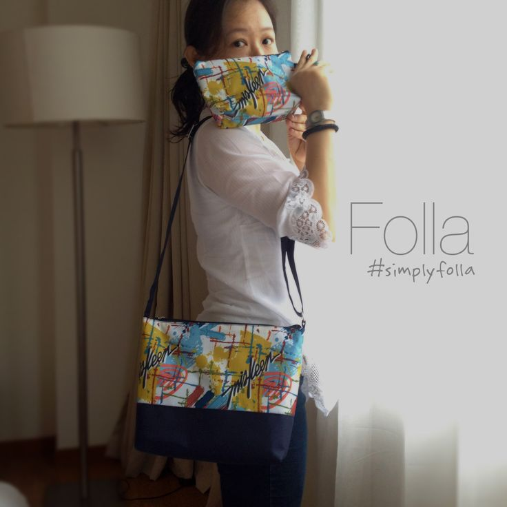 #grafitti #vegan #slingbag #waterresistant by #Folla www.simplyfolla.com