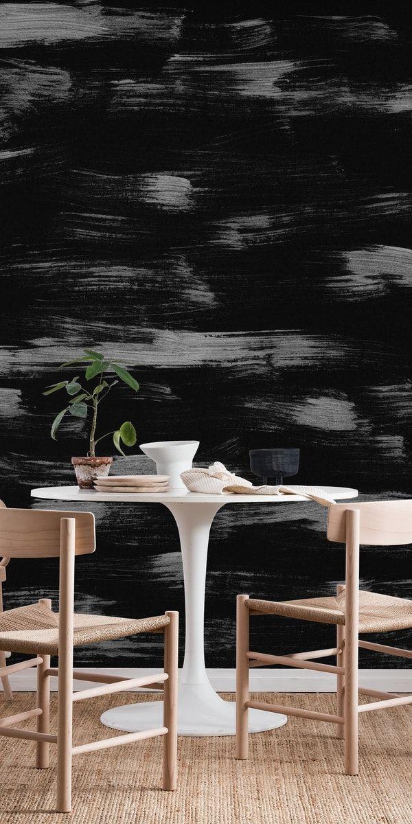 Brushstrokes Minimalism 1 Wall Mural Wallpaper Abstract Wall