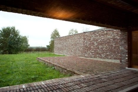 Siza, Alvaro & Rudolf Finsterwalder: Insel Hombroich Foundation, Hombroich, Germany: Architecture, Across the landscape | The Red List