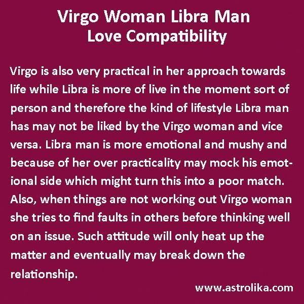 lion man and virgo woman compatibility