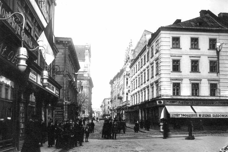 Ulica Rutowskiego - Lwów na starych zdjęciach