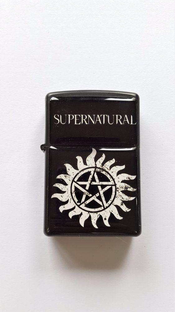Supernatural Star Black Lighter Torch Lighter Gift For Friends