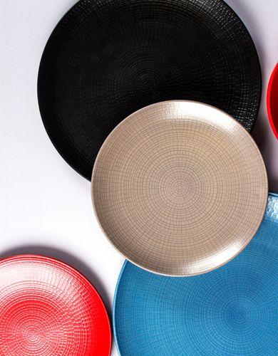 A selection of Modulo Plates available at Hugh Jordan.