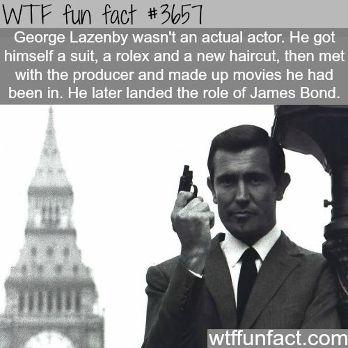 I already knew this but this just makes him 1000X more awesome because HE BONDED HIS WAY INTO BEING BOND PEOPLE!!!!!!!!!!!!