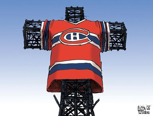 In Montreal, Hockey is the Official Religion