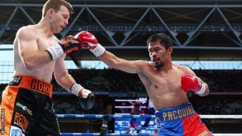 """The loss to Jeff Horn was Manny Pacquiao's second defeat in his last four bouts  Former  welterweight champion Manny Pacquiao says he will """"continue to fight""""  despite his controversial defeat to Australia's Jeff Horn.  Horn a former schoolteacher shocked Pacquiao 38 with a unanimous 12-round decision on 2 July in Brisbane. The World Boxing Organisation reviewed the fight but judges backed the result in favour of 29-year-old Horn. It had been suggested the 11-time world champion might retire…"""