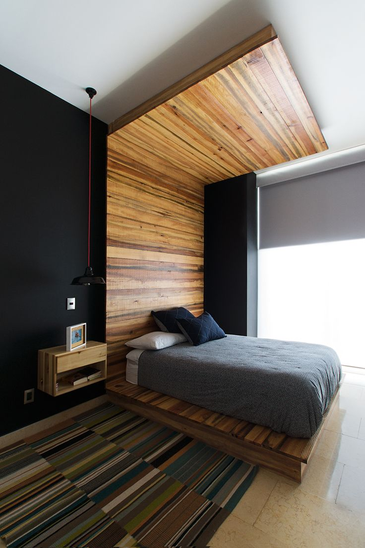 Penthouse HT | Dionne Arquitectos | #bedroom #penthouse #wood #indoor #design #interior #rug