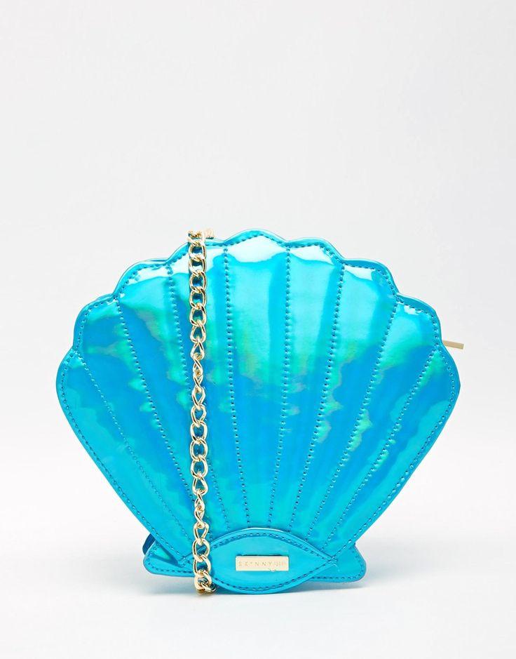 Image 1 - Skinnydip - Mermaid - Sac bandoulière motif coquillage
